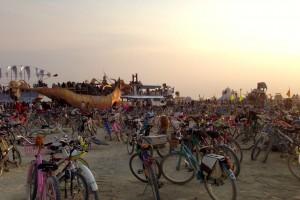 Sunrise Set Burning Man 2013