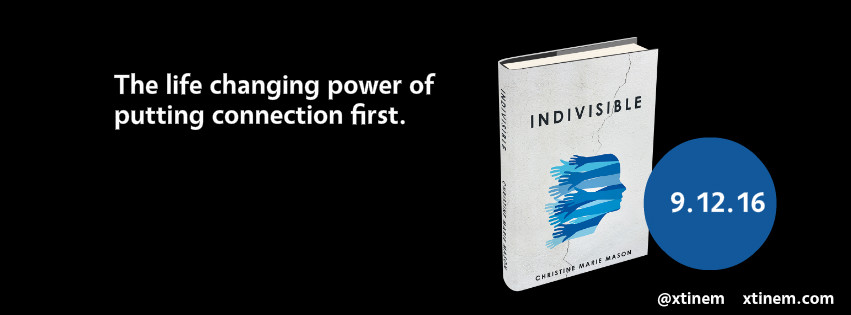 Indivisible Book launch graphic