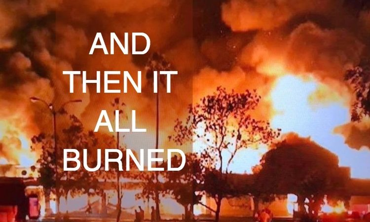 And Then it All Burned by Christine Marie Mason